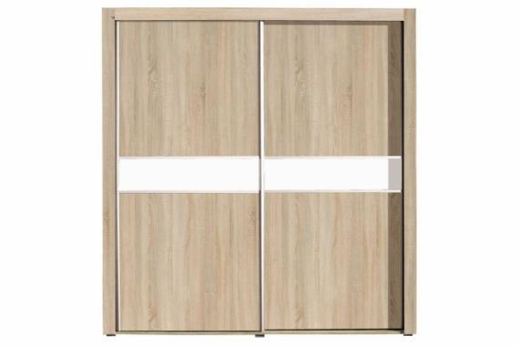 SIRAEL šatníková skriňa s posuvnými dverami | 2 dekory