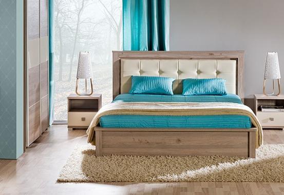 VERTO 12 manželská posteľ 160x200 s roštom a úložným priestorom