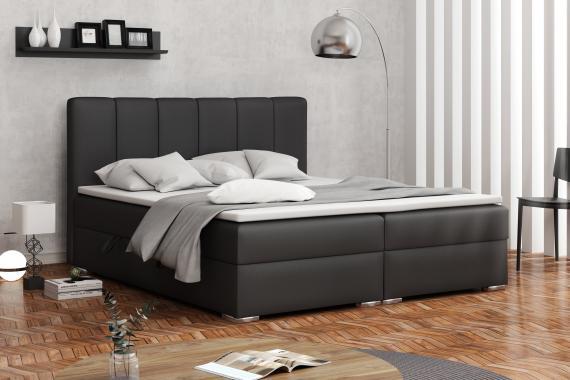 DENALI kontinentálna posteľ boxspring 140x200 s úložným priestorom