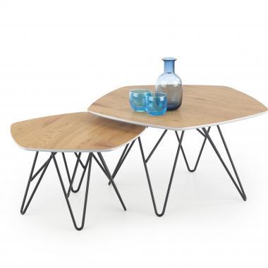 ZERO atypický konferenční stolek v industriálním stylu