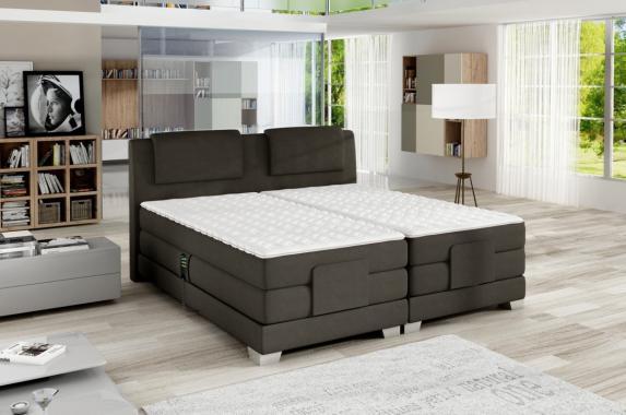 CLEA boxspring postel 140x200 s elektrickým polohováním