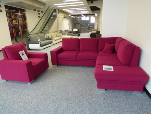 ROMEO rozkládací rohová sedačka s úložným prostorem - výprodej