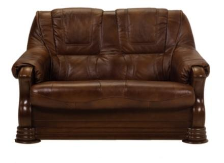 PATRICIE Polstersofa: 2- oder 3-Sitzer, wahlweise mit Schlaffunktion, echtes Leder, rustikal, Bonell