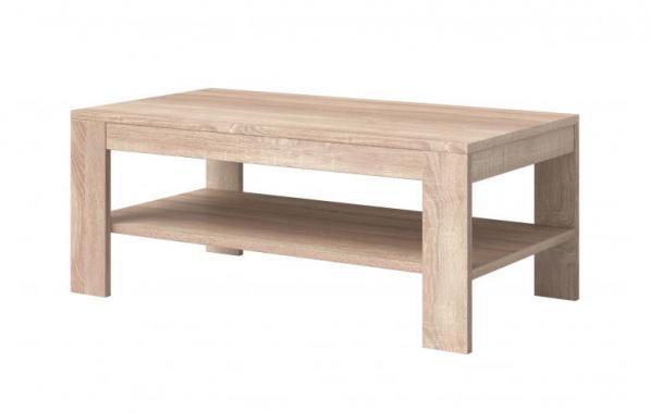 CLEVER obdélníkový konferenční stolek se dvěma patry