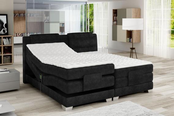 CLEA boxspring postel 160x200 s elektrickým polohováním