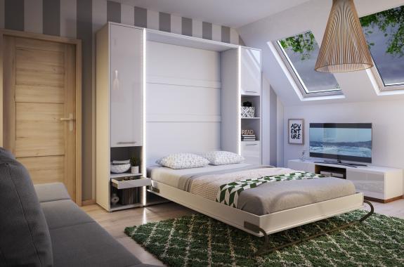 CONCEPT PRO vysoká sklápacie posteľ | 3 rozmery
