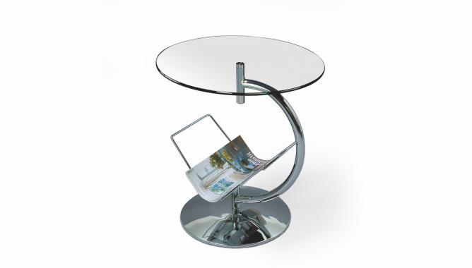 ALMA guľatý kovový konferenčný stolík | VÝPREDAJ