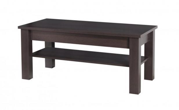 ROCCO RO19 obdélníkový konferenční stolek se dvěma patry