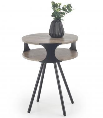 KIRBY kulatý konferenční stolek v industriálním stylu