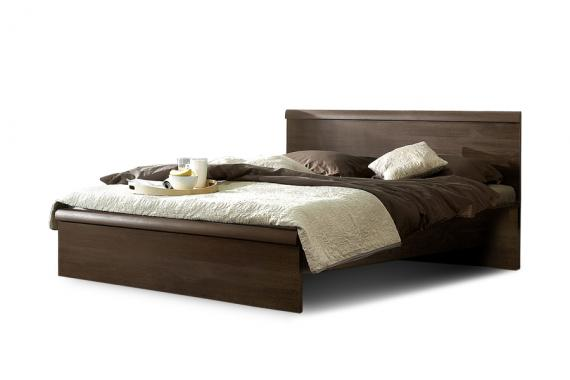 SONNO manželská postel v dekoru dub sonoma tmavý | 2 rozměry