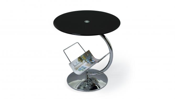 ALMA guľatý kovový konferenčný stolík