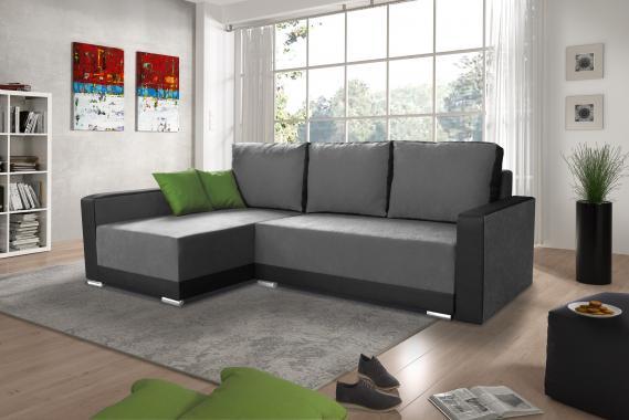 BASIC malá rozkladacia sedacia súprava s úložným priestorom