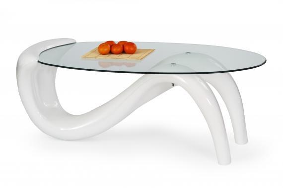 CORTINA sklenený konferenčný stolík