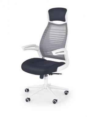 FRANKLIN moderné kancelárske kreslo, čiernobiele