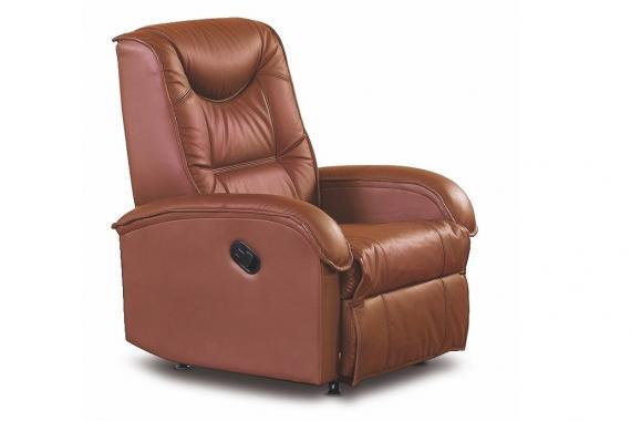 JEFF relaxační křeslo s polohováním a vysouvací podnožkou