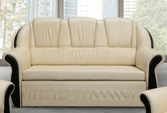 LADA Kleines 2-Sitzer Sofa mit Schlaffunktion und Stauraum, im Landhausstil