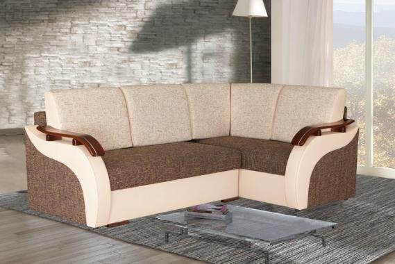 ROXY rohová sedačka s funkcí spaní a úložným prostorem