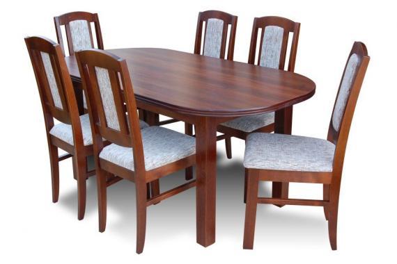 ZOSTAVA 1 | jedálenský stôl + 6x stoličky