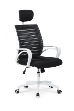 SOCKET kancelárska stolička, čiernobiela