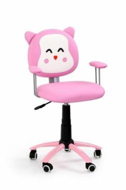 KITTY růžová dětská židle ve tvaru kočičky