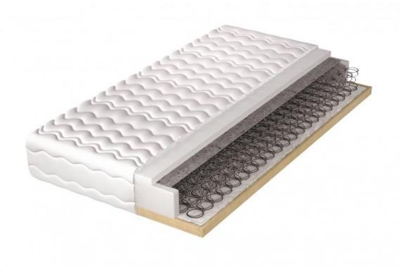 HELVETIA pěnová matrace v dřevěném rámu | 5 rozměrů