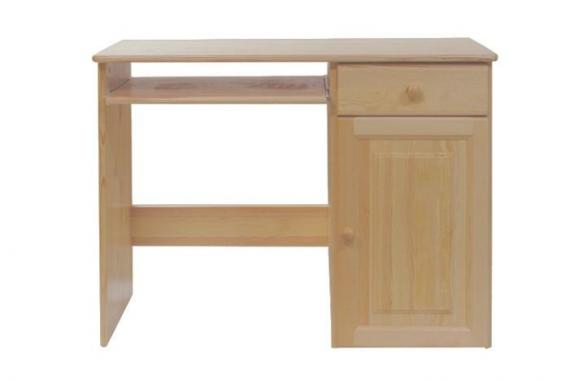 NR3 písací stôl z masívneho dreva