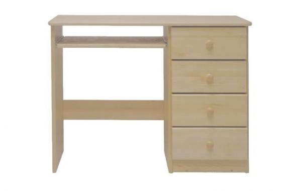 NR1 psací stůl z masivního dřeva