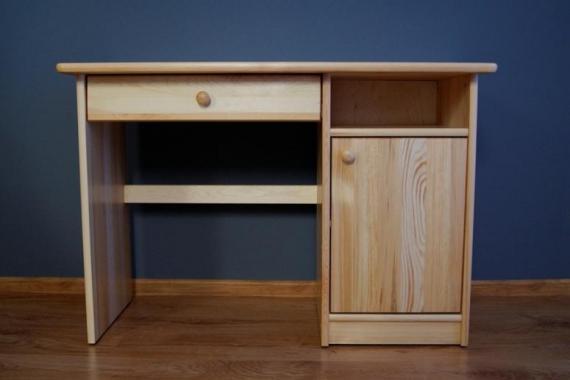 NR5 písací stôl z masívneho dreva