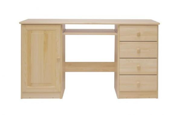 NR2 písací stôl z masívneho dreva