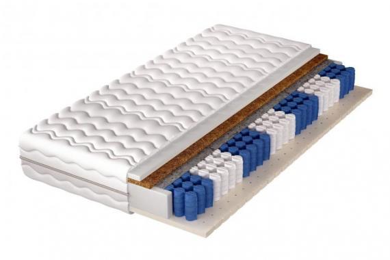 ATLANTA 7 zónová taštičková matrace | 5 rozměrů
