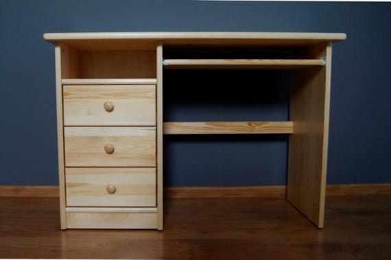 NR6 psací stůl z masivního dřeva