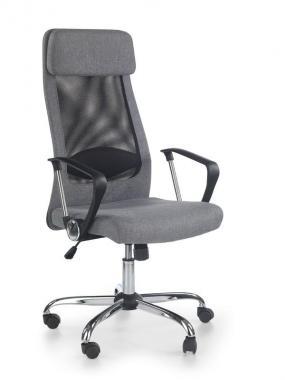 ZOOM kancelárska stolička, čierno-sivá