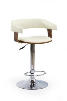 HLR, H-12 barová židle, krémová