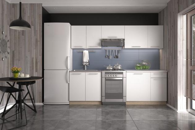 Levně DARIA kuchyňská linka v dekoru dub sonoma/bílá