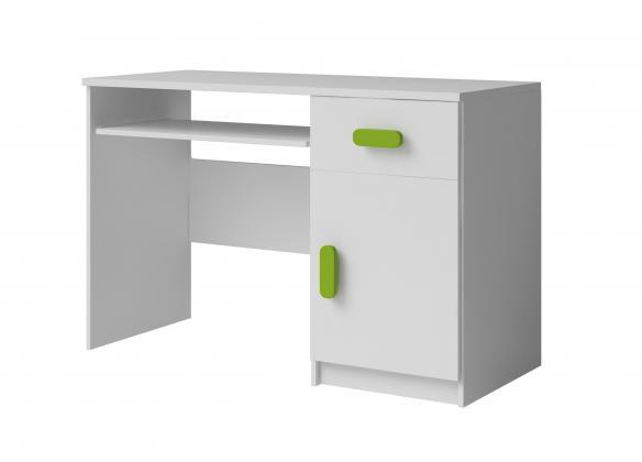 MIKI dětský psací stůl, bílý