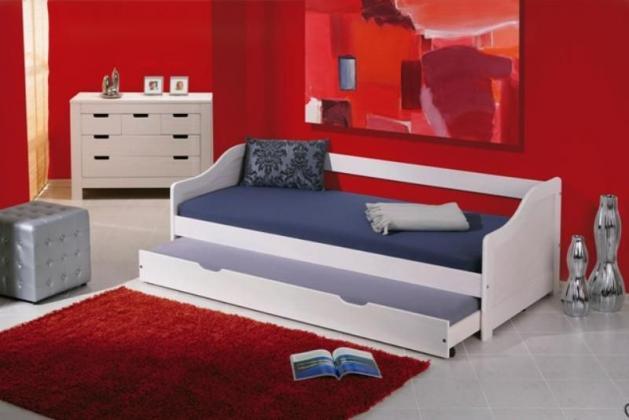 HLR, LEONTÝNA dětská postel s přistýlkou