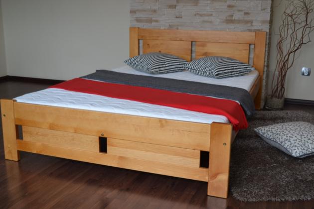 MPE, KLÁRA postel z masivu, doprava zdarma