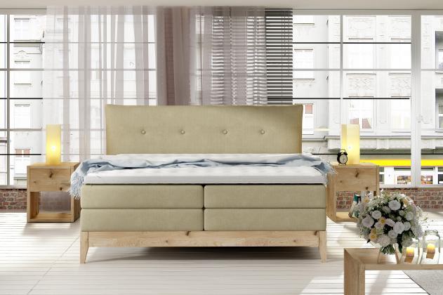 WRS, FILLA Boxspring posteľ, 140 - 180x200 cm