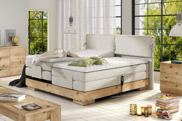 WRS, KOMFORT Boxspring posteľ, 140 - 180x200 cm