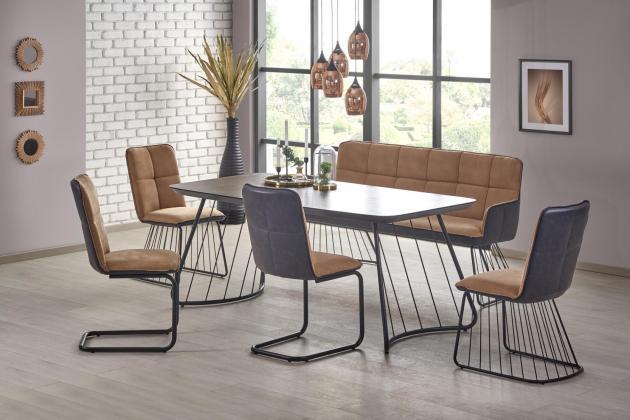 HLR, DENVER dizajnový jedálenský stôl