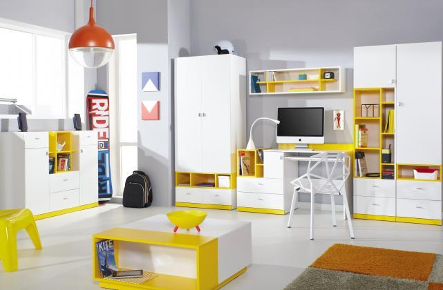 MBR, SHINE II Dětský pokoj - možnost vytvoření vlastní sestavy nábytku