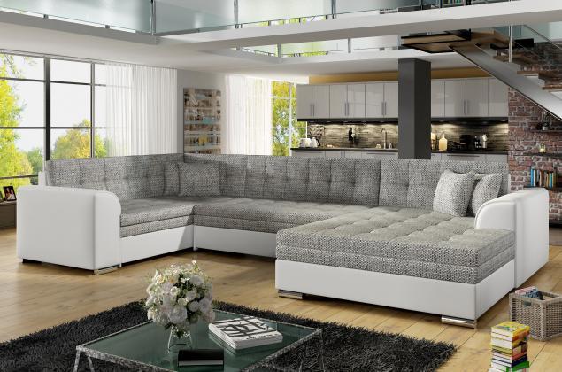 Sedačky-nábytok, SYDNEY U Rohová sedačka 360x196x186cm