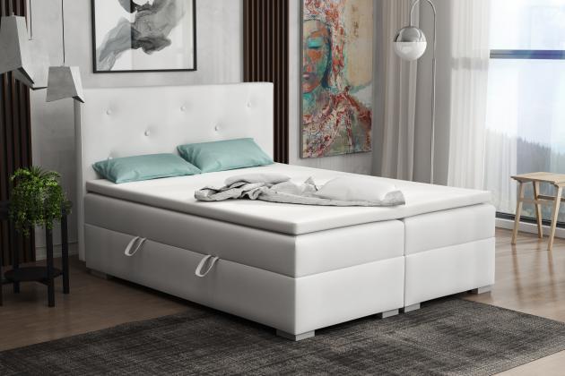 DONA kontinentálne posteľ boxspring 160x200 s úložným priestorom