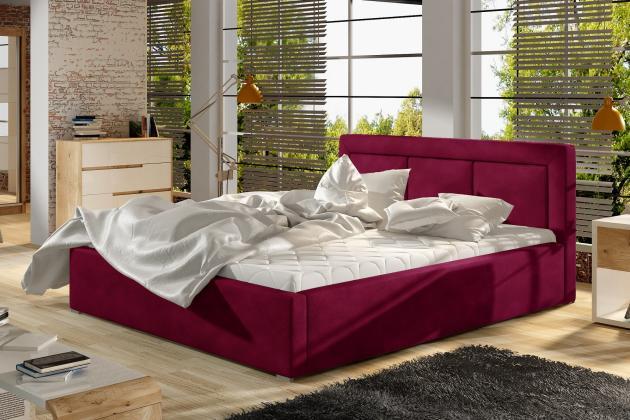 ELT, LUCKY čalúnená posteľ, 200x200 cm