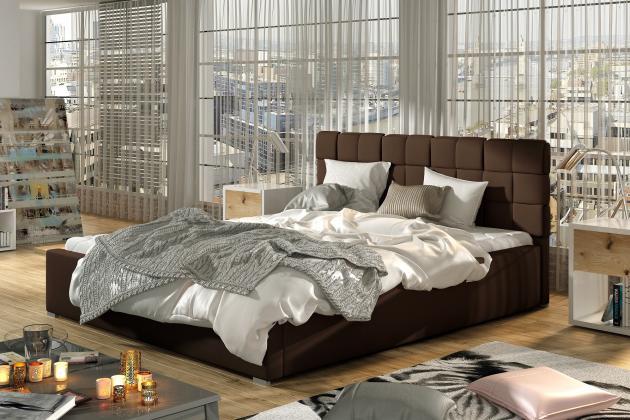 ELT, ALFRED čalúnená posteľ, 200x200 cm