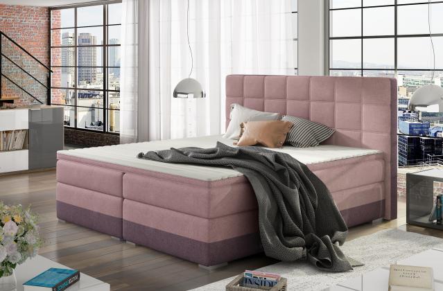 ETP, DANTE americká boxspring posteľ 160x200