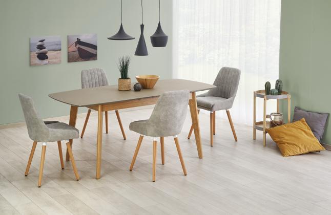 HLR, MEMFIS Jedálenský stôl 150÷190/90/76 cm