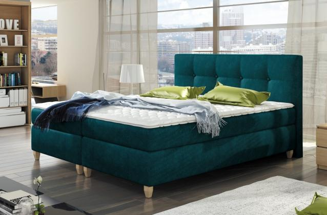 WRS, TRIPOLIS kontinentálna boxspring posteľ 140x200 cm