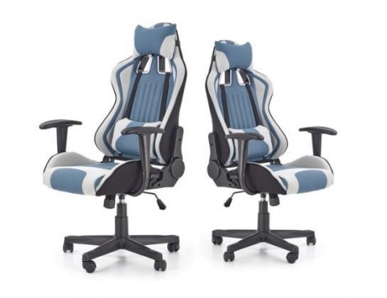 Kancelárske kreslo, modro čierne
