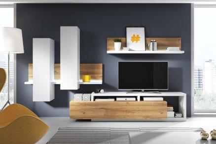 Sedačky-Nábytek, BOND II Obývací stěna